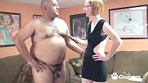 Dumpy MILF Fucks A Fat Mans Little Dick video
