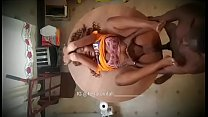 5836 Black ebony twins bang in the kitchen again preview
