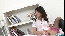Hina Aisawa smooth Asian threesome on cam - More at Javhd.net