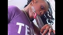 Jasmine - an Ebony Girl - take the dick in every hole to the limit