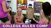 COLLEGE RULES - Collection Of Teen Sluts Fuckin...