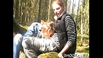 Teen girlfriend with perfect mouth knows how to engulf a fellow off