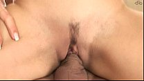 Image: Brunette's threesome