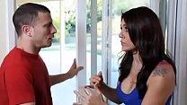Hot busty wife cheats on husband