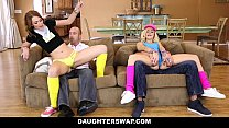 DaughterSwap - SluttyTeen Girls Fucked Before Rave pornhub video