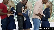 BLACKED Preppy Girl Threesome Get Three BBCs Vorschaubild