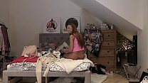 See through Leggings, Pasties on Revealing Tits, Funny and Sexy Leon`s Angels are at home with the tiniest thongs, Daisy, Lucy and Sylvia Once again try on haul thumbnail
