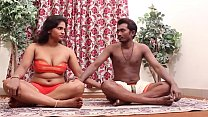 Hot Indian Girl Teaching Yoga...more on 900cams.net