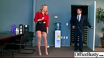 (Olivia Austin) Girl With Round Big Tits In Hard Style Sex In Office clip-22