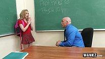 WANKZ - Teen Gets Creampied By Teacher! tumblr xxx video