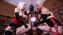 ClubDom Mistress Whip And Cane Before Milking preview image