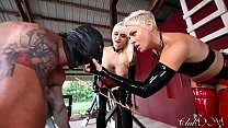 ClubDom Mistress Whip And Cane Before Milking Vorschaubild