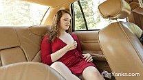 Sweet Endza Masturbates Her Cunt On Backseat video
