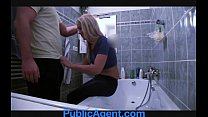 PublicAgent Fit Young Babe needs a plumber thumbnail