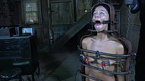 Strappado, claustrophobia and orgasm predicament for captive girl Vorschaubild