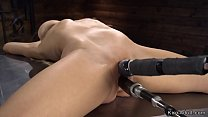Tied busty mature lady machine fucked thumbnail