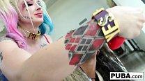 Ashley Pink gets fucked by Leya Falcon thumbnail