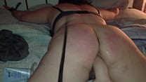 Bad girl being punished