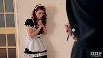 Gorgeous redhead maid Isabella Lui gets Hard An...