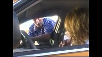 Stunning blonde cab driver Shyla Stylez with big melons proposed her client to ride his cock
