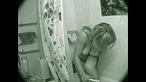 Mom in the shower ! صورة