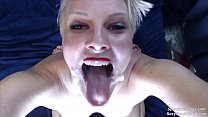 You Won't Believe the Size of This Cum Facial thumbnail