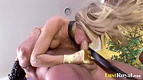 Image: Anal makes Holly Wellin and Tori Lane moan