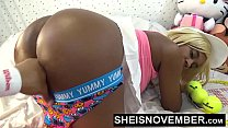10155 Msnovember Panties Pulled Down Hips For Little Black Nasty Big Butt Hole Winking And Fingering Young Ebony Mulatto Model Close Up Dirty Booty Hot Ass Gape Sheisnovember HD preview