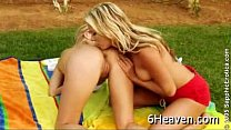 Lesbian Alison and Rene