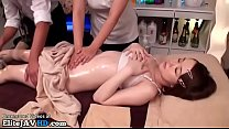 Japanese massage with 18yo cutie goes wrong thumbnail