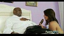 Daughter fucks her black dad 160