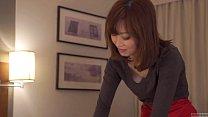 Subtitled CFNM Japanese hotel milf massage leads to handjob thumbnail
