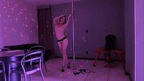 Letty sexy fun on pole dance