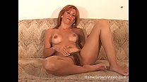 10753 Hairy mature amateur redhead fucking her husband preview