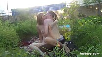 Making Love Outdoors in the Garden - Homemade