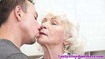 Euro grandmothers hairypussy fucked preview image