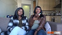 2 Black Lesbian Babes Eating Each Others Pussy