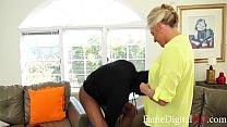 Grandmom tests my boyfriend before marriage- Peyton Hall Vorschaubild