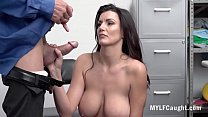 Old Horny Cop Fucks Stealing MILF- Becky Bandini