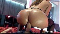 Big butt Franceska Jaimes asshole nailed real hard and deep thumbnail