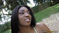 Ebony Sizi Sev Has Multiple Squirting Orgasm