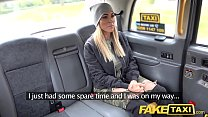 Fake Taxi Mature busty milf licks arse and empties big balls thumbnail