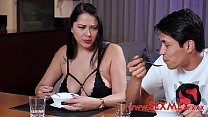Taboo Story. He blackmailed his dad in order to fuck stepmom Vorschaubild