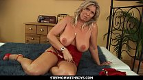 StepmomWithBoys - Busty And Sexy Mama Gets Hard Fucked By Stepson