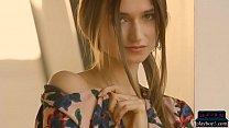 Gorgeous natural Euro MILF Ilvy Kokomo teases and poses