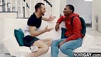 Interracial gay step brothers fuck