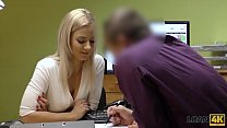 LOAN4K. Naughty Nathaly Gives Her Shaved Pussy To The Loan Officer