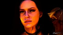 The Throes of Lust - A Witcher tale - Yennefer and Geralt