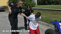 BLACK PATROL - Cops Shut Down Gang Off Black Thugs Ridin' Rough Through The Streets thumbnail