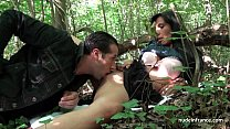 5309 Georgous amateur exhib milf gets rendez vous in a wood before anal sex at home preview